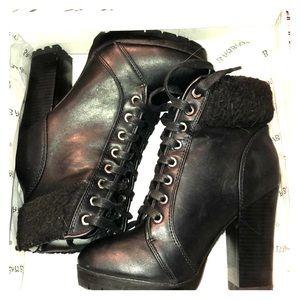 4 inch Black Booties